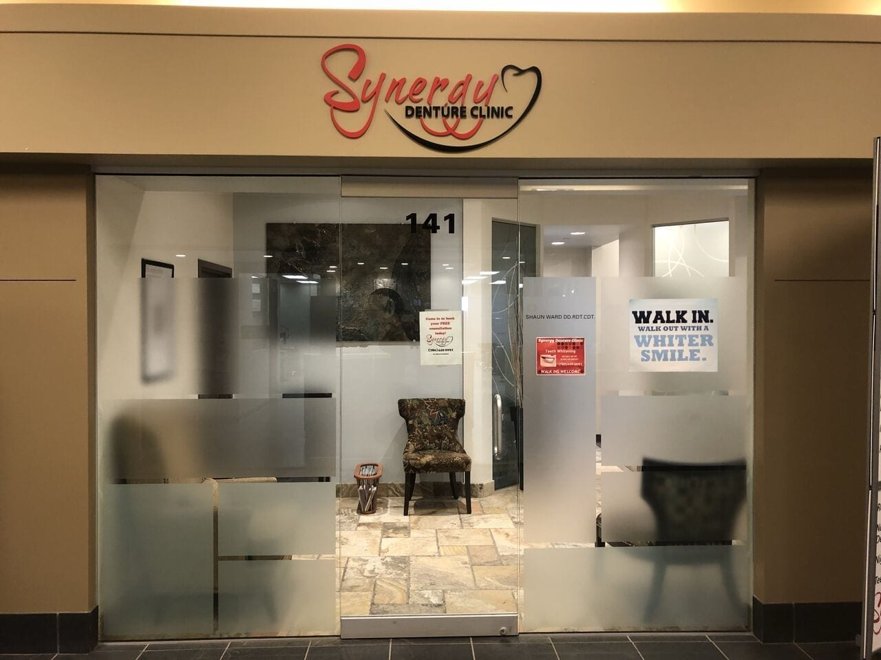 Synergy Denture Clinic storefront